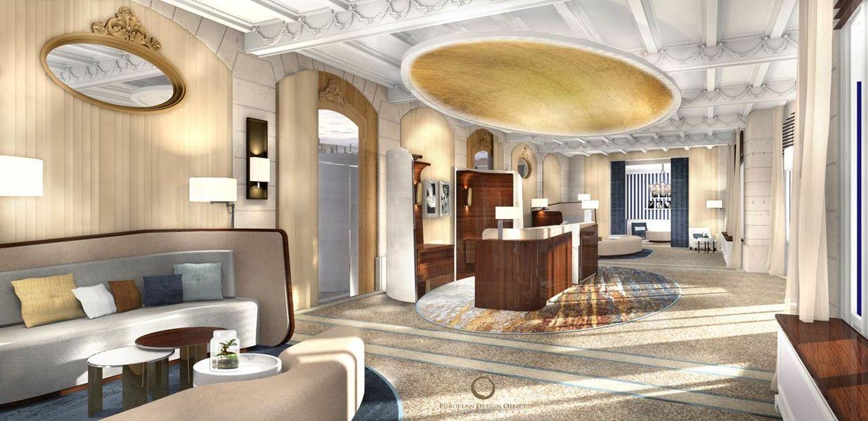 Le Grand Hôtel Dinard ***** La Réception