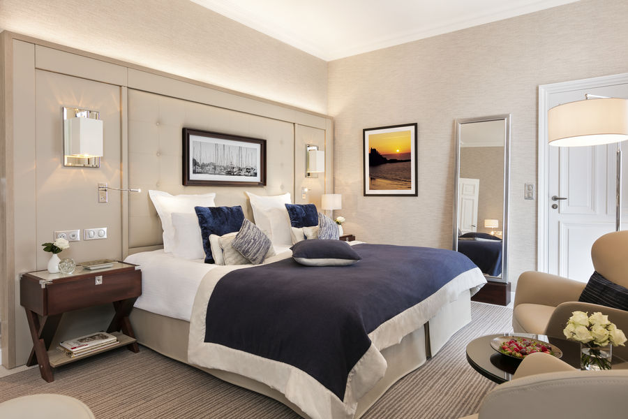Le Grand Hôtel Dinard ***** La chambre Deluxe