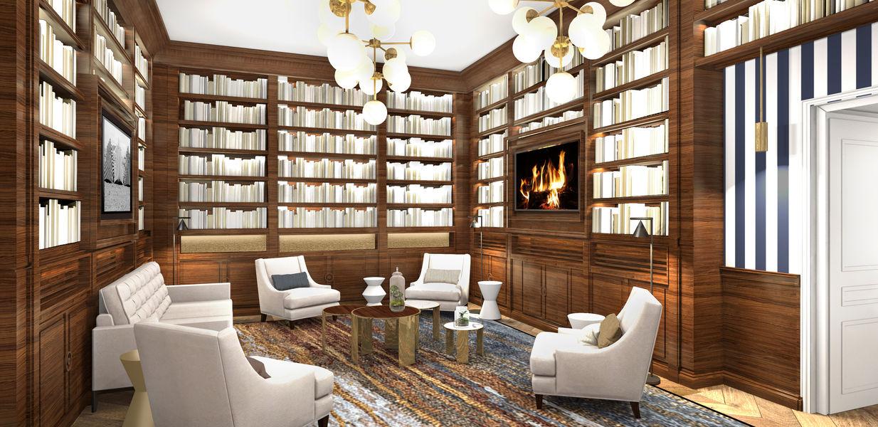 Le Grand Hôtel Dinard ***** Bibliothéque