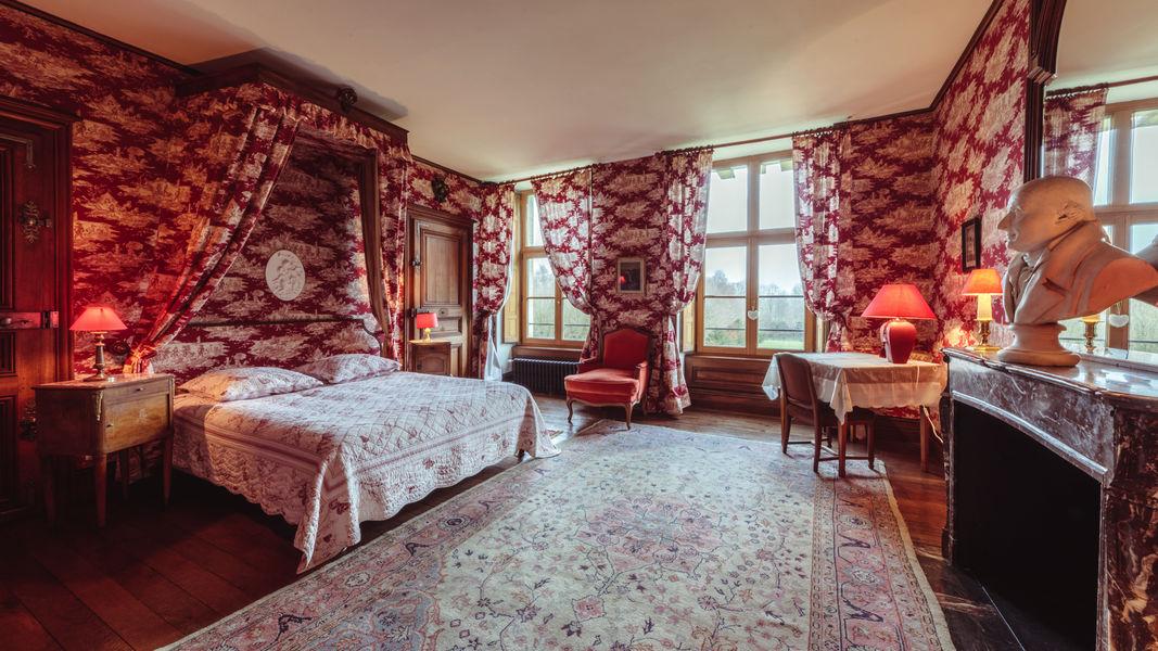 Château de Vitry-la-Ville Chambre du Comte