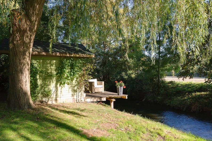 Le Domaine de Géline Jardin extérieur annexe