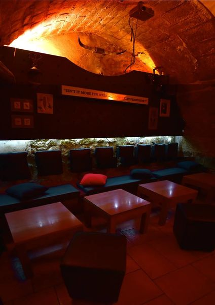 Le Lizard Lounge The Underground ( notre salle pour 30,35 personnes)