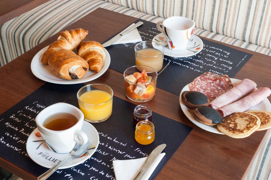 Domaine de Normandoux *** Petit-déjeuner