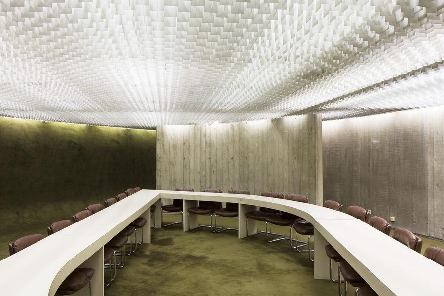 Espace Niemeyer Salle de délégation