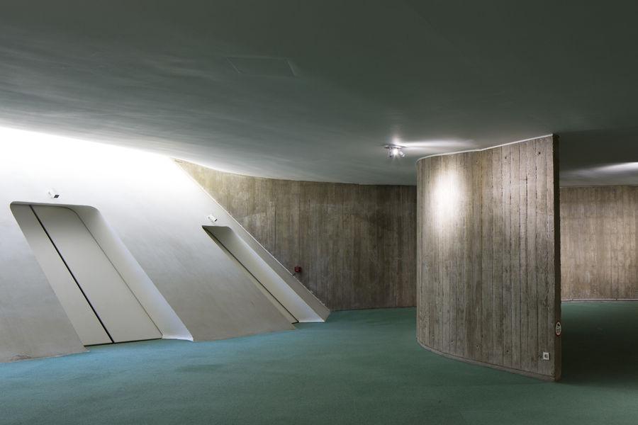 Espace Niemeyer Hall d'exposition