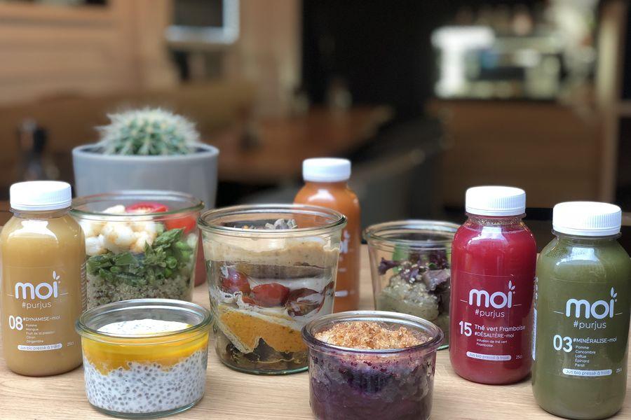 MOI Cuisine bio et locale en bocaux