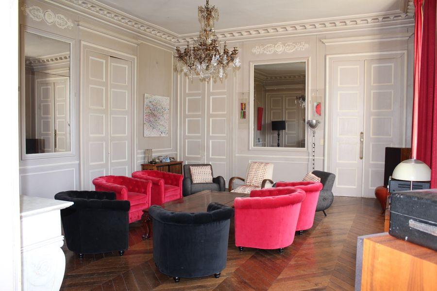 Château du Bois de la Lune Salon de réception