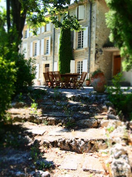 Domaine Dieu-Le-Fit Terrasse