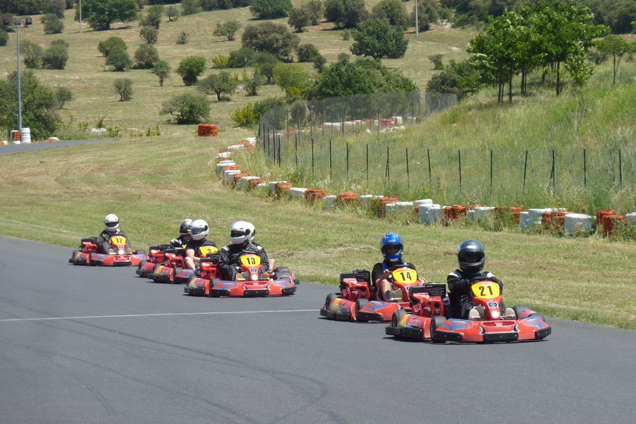 Parc Sports et Loisirs - Gorges de l'Hérault Cévennes Karting - Initiation