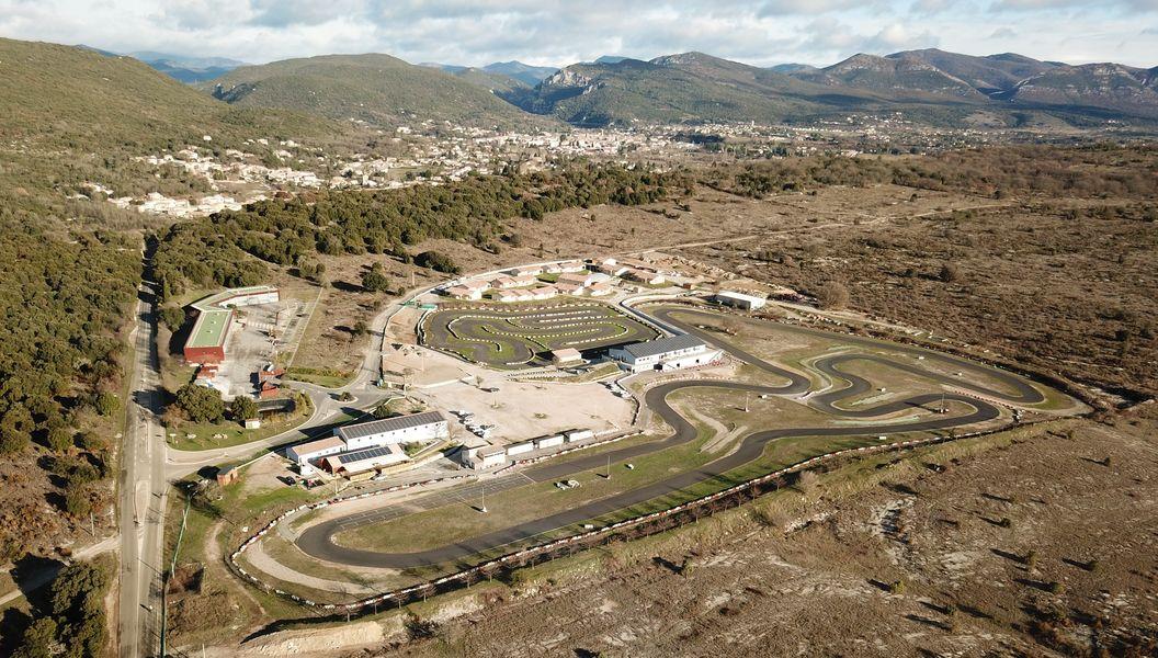 Parc Sports et Loisirs - Gorges de l'Hérault Cévennes Complexe - Vue aérienne