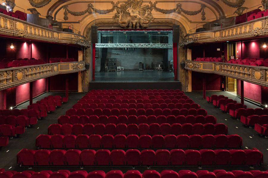 Le Trianon Théâtre - vue depuis 1er balcon