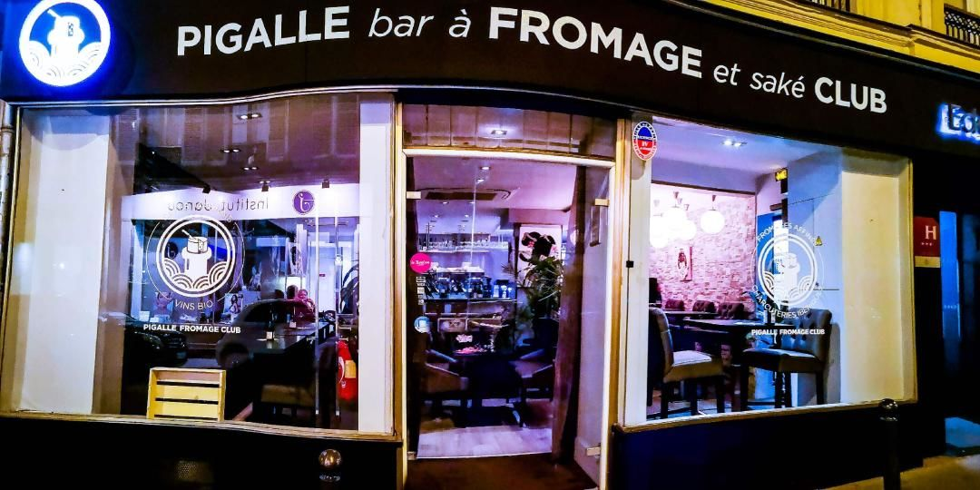 Pigalle Fromage Club Façade
