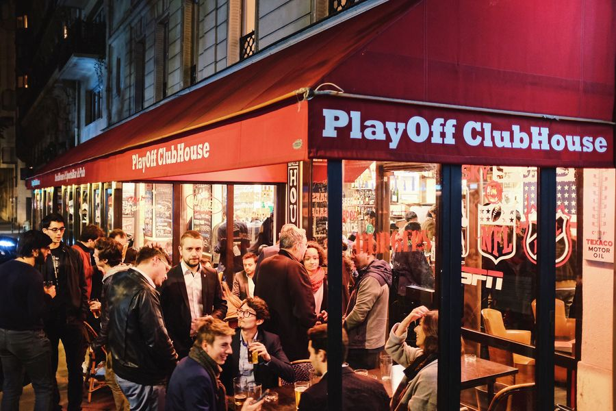 PlayOff Wagram terrasse couverte et chauffée