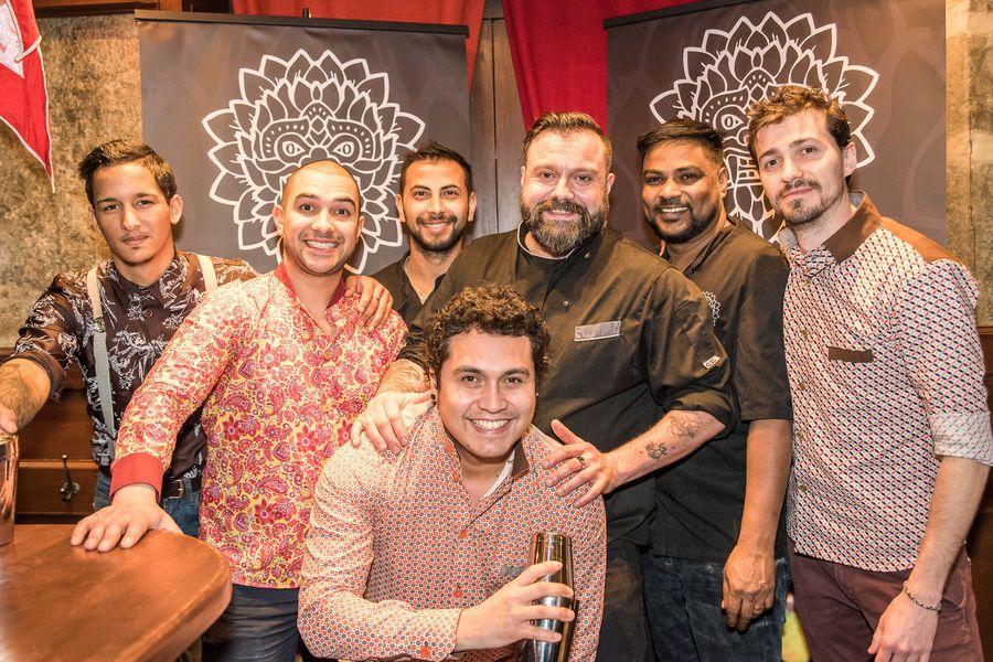 Mumbai Cafe staff
