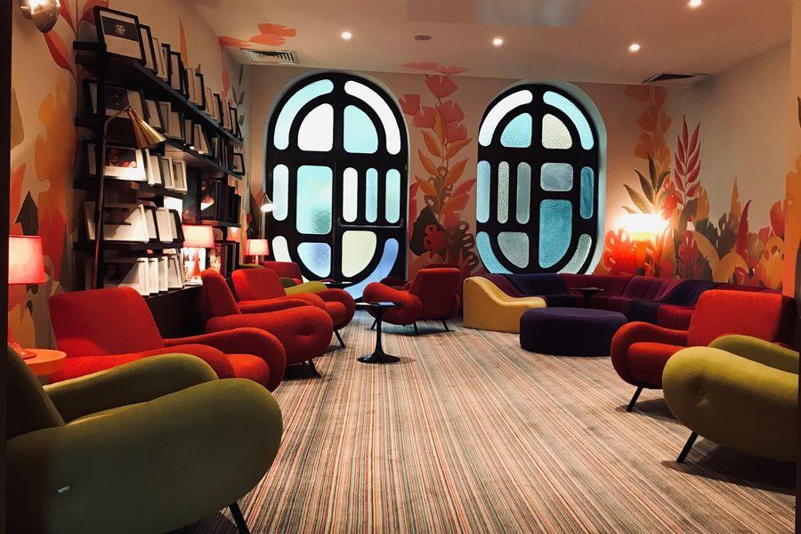 Hôtel La Résidence du Vieux-Port **** Bibliothèque
