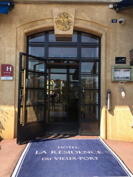 Hôtel La Résidence du Vieux-Port **** Accueil