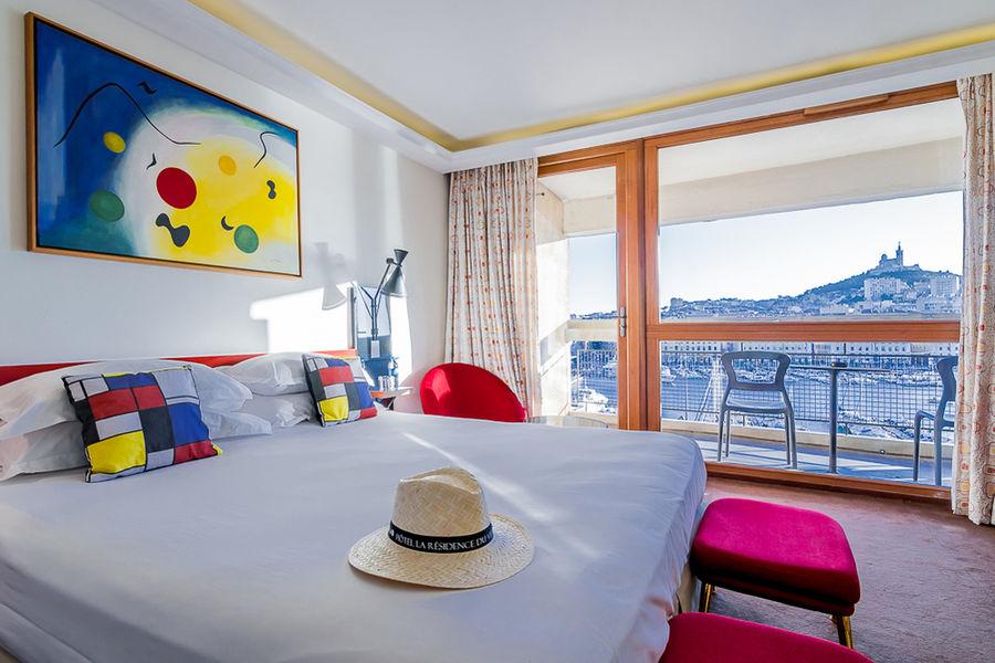 Hôtel La Résidence du Vieux-Port **** Chambre