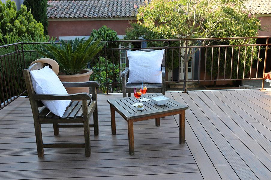 Hôtel Les Jardins de Cassis *** Terrasse