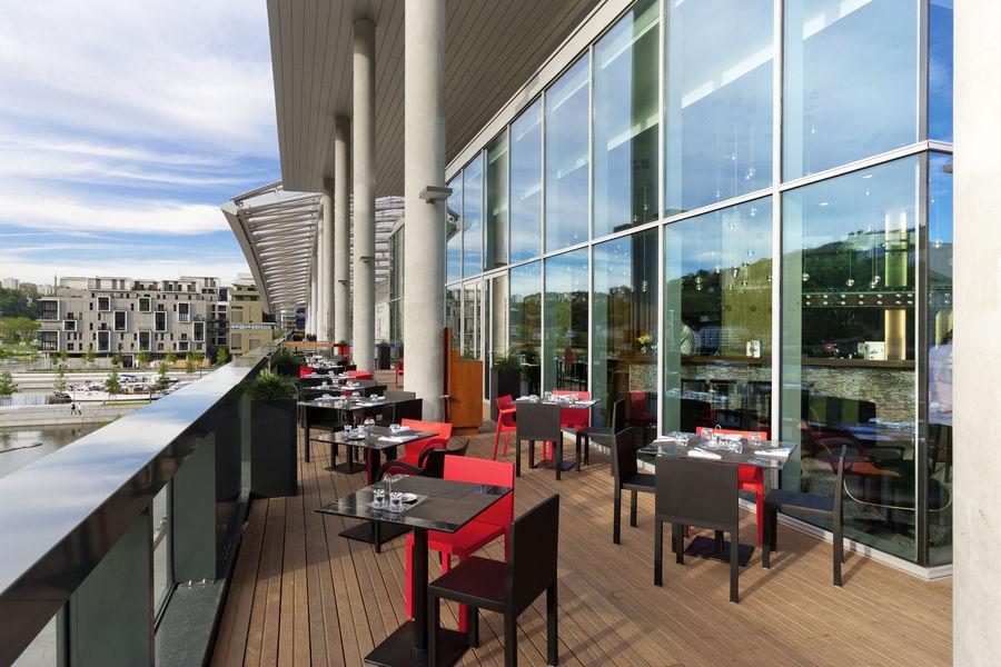 Novotel Lyon Confluence **** Terrasse
