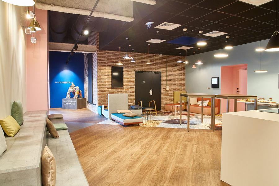 Novotel Lyon Confluence **** foyer