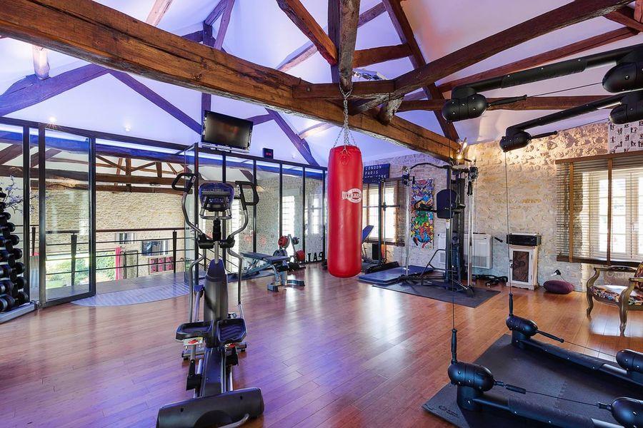 Le Domaine de Géline Salle de fitness