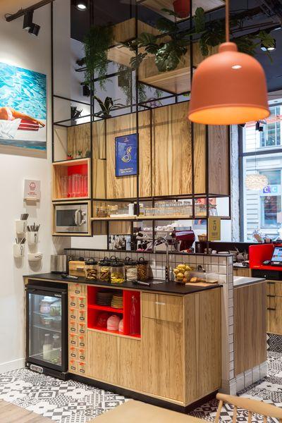 Anticafé Lyon comptoir gourmand