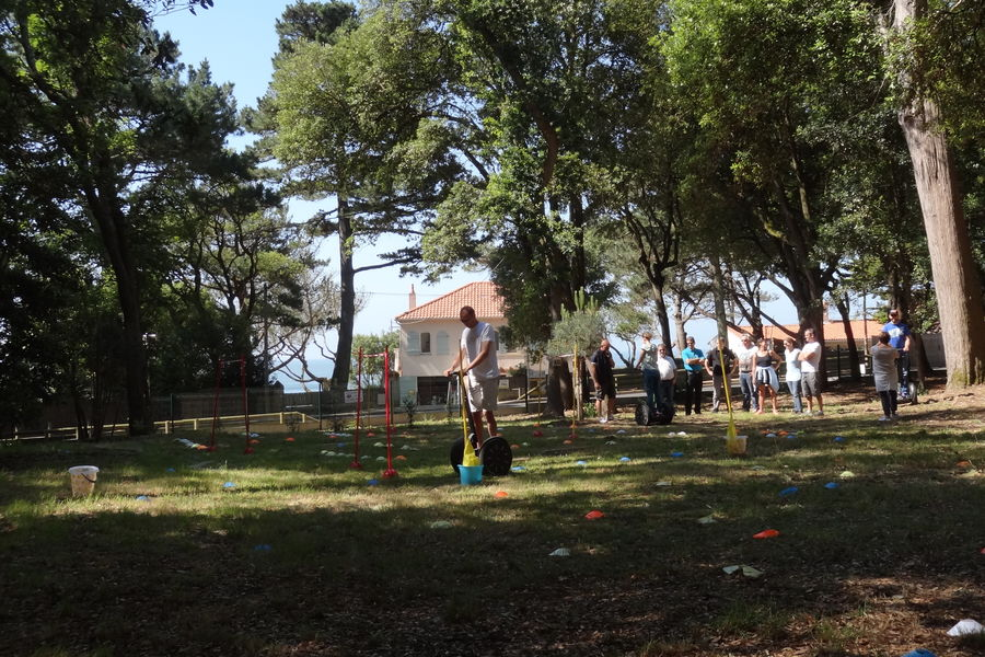 Domaine Ker Juliette*** Activité dans le parc
