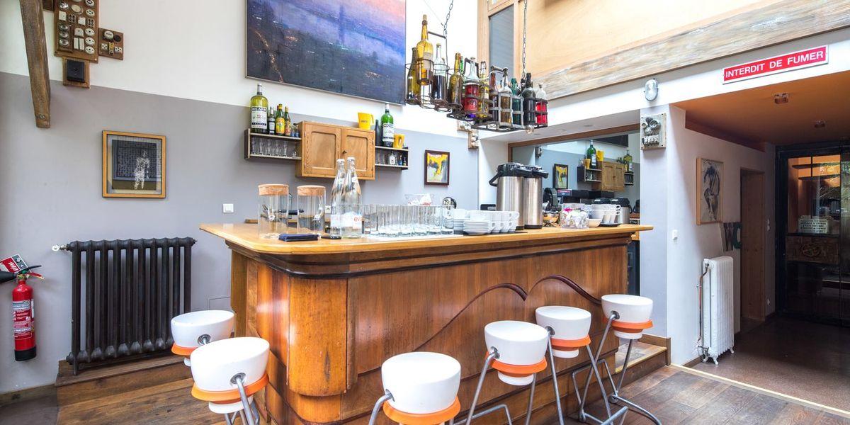 La Charbonerie Salon - bar - bibliothèque