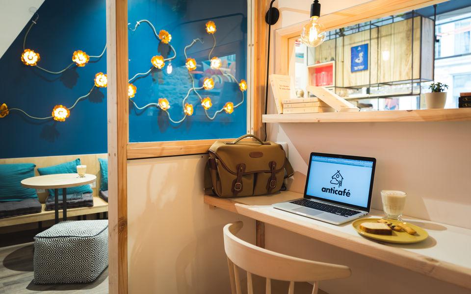 Anticafé Lyon ambiance