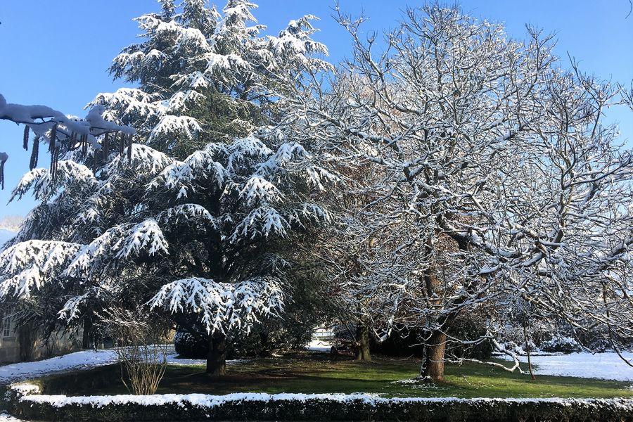 Le Village Potager Sous la neige aussi...