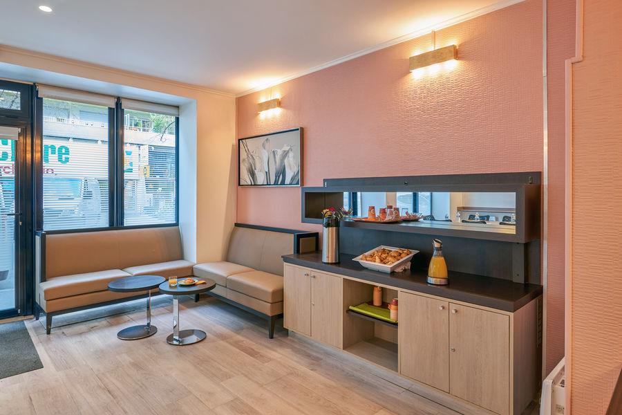 Hôtel Home Moderne *** Salle de réunion - Pause café