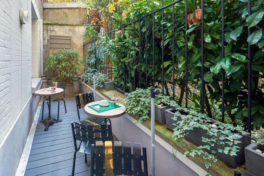 Hôtel Home Moderne *** Terrasse