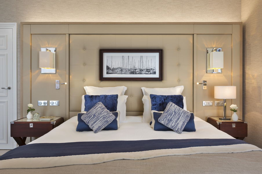 Le Grand Hôtel Dinard ***** Chambre deluxe