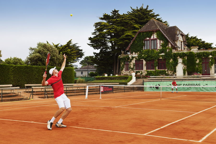 Le Grand Hôtel Dinard ***** Tennis