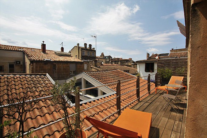 Cosy Workplace - Appartement des Chartrons Terrasse