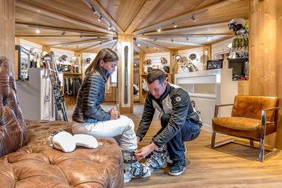 Les Fermes De Marie ***** Ski Shop