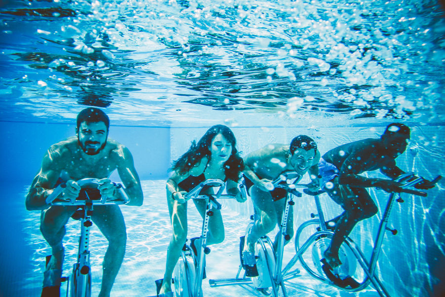 Hotel Spa de Fontcaude Aquabiking