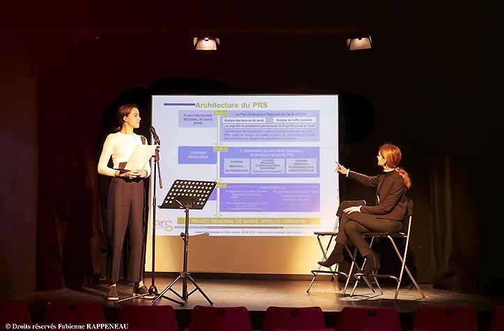 Le Théâtre de la Contrescarpe format conférence
