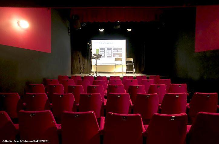 Le Théâtre de la Contrescarpe Vue depuis le fond de la salle