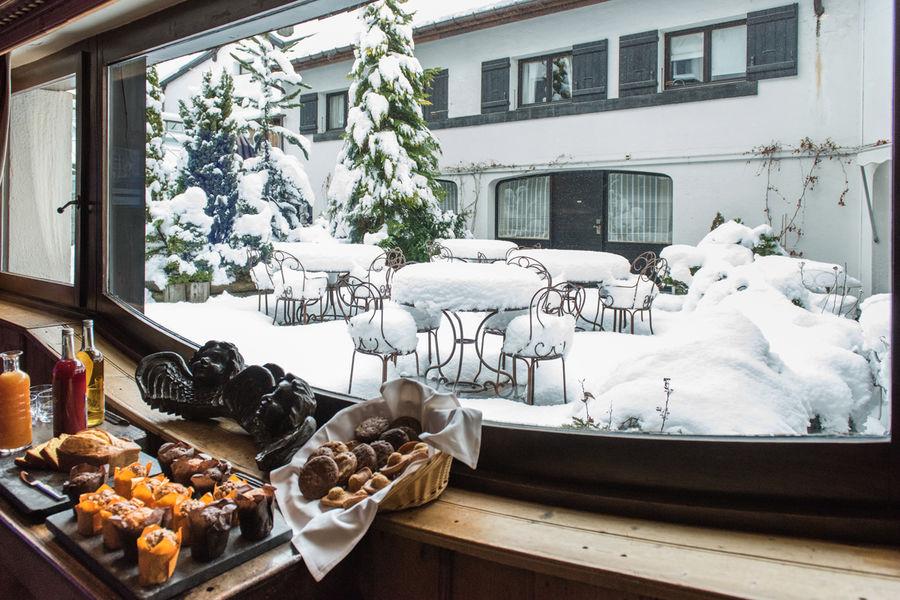 Hôtel Mont Blanc **** Vue Patio - crédits photos Sophie Molesti