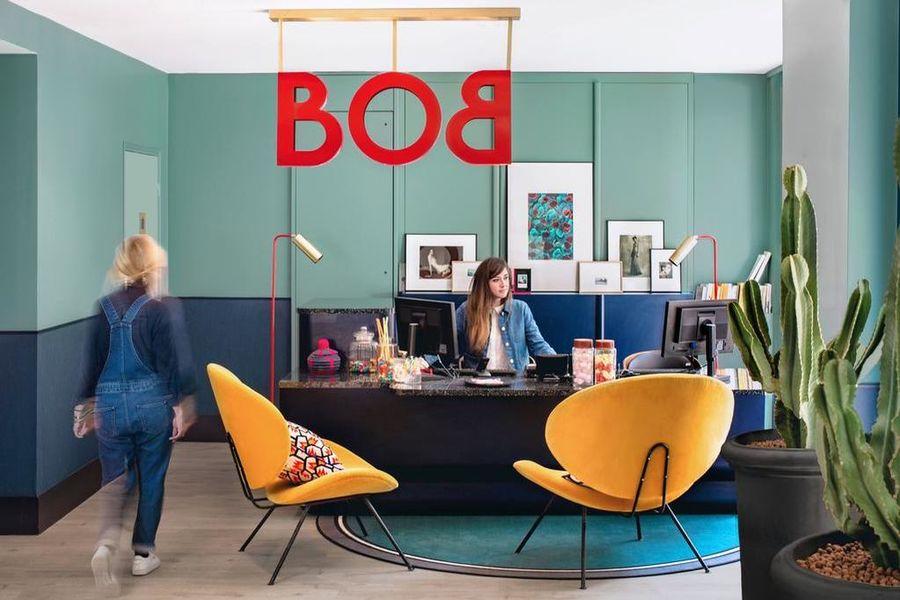 Bob Hôtel **** Accueil