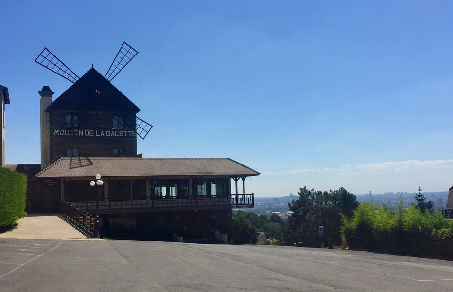 Moulin de la Galette Entrée du Moulin