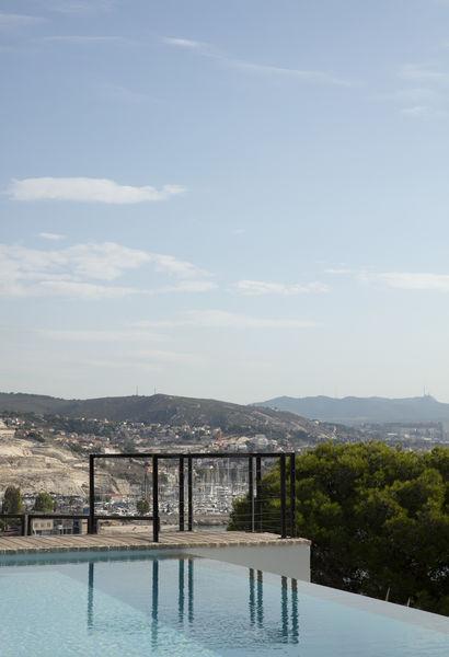 Le Fortin de Corbières La terrasse
