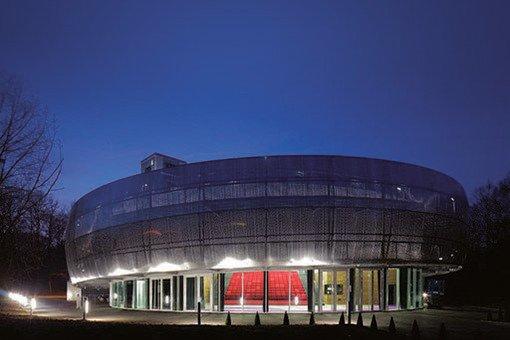 Autodrome de Linas-Montlhéry Pavillon LE 1924 au coeur de l'Autodrome de Linas-Montlhéry en Essonne