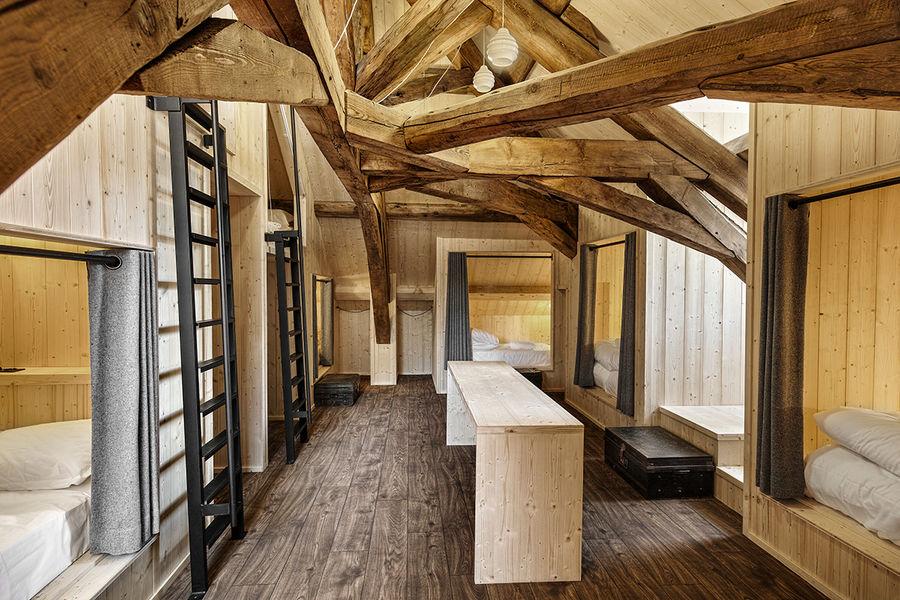 Terminal Neige - Refuge du Montenvers à Chamonix Dortoir 10 couchages - crédit Di Orio