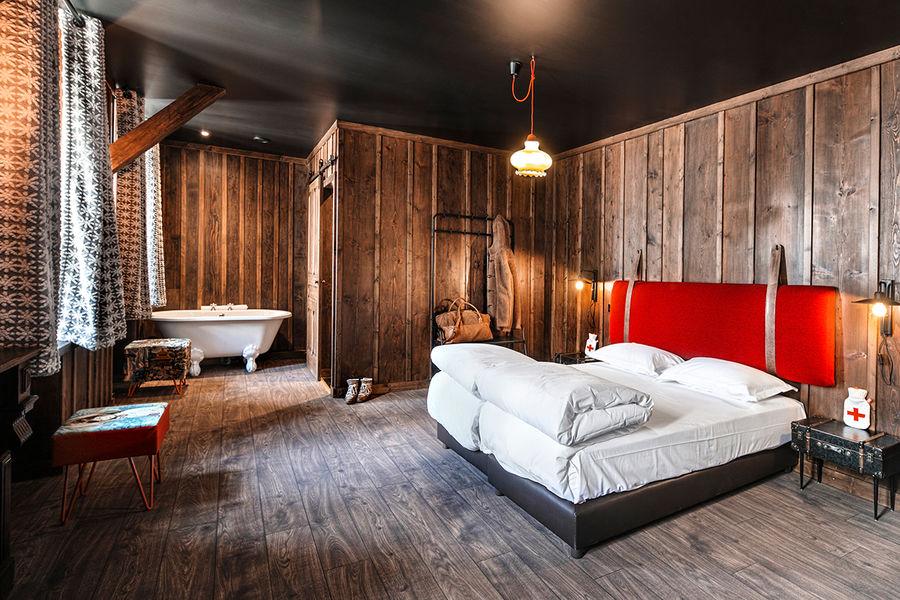 Terminal Neige - Refuge du Montenvers à Chamonix Chambre refuge  - crédit Di Orio