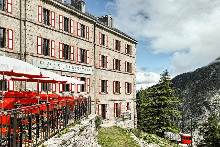 Terminal Neige - Refuge du Montenvers à Chamonix Extérieur Refuge - crédit Di Orio
