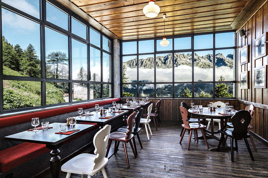 Terminal Neige - Refuge du Montenvers à Chamonix Véranda - crédit Di Orio