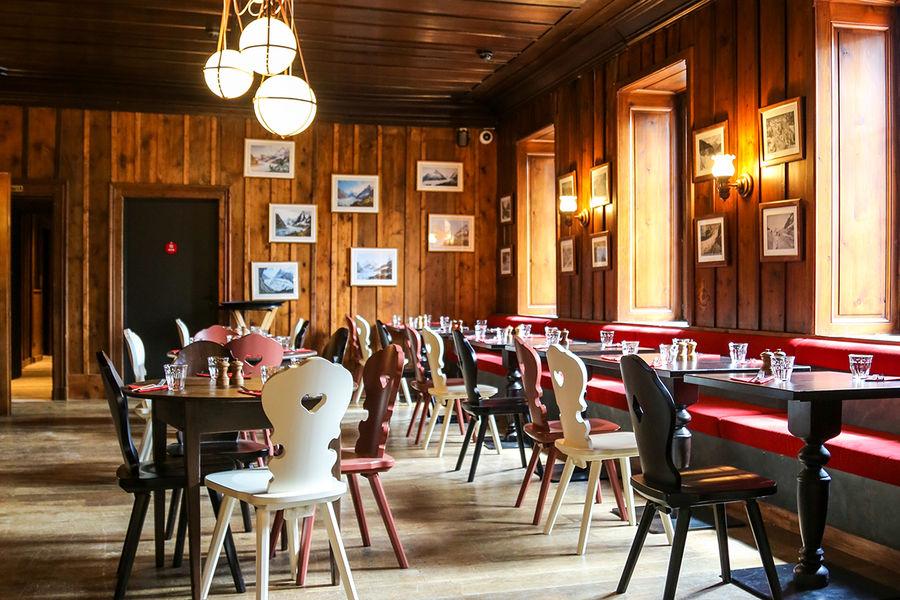 Terminal Neige - Refuge du Montenvers à Chamonix Restaurant - Crédit photo OT Chamonix