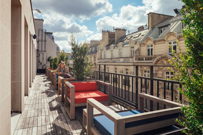 Kwerk Bienfaisance Terrasse